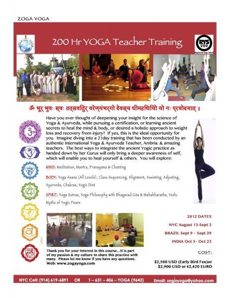 Yoga Teacher Training Limerick